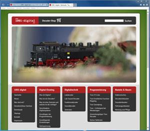Webdesign, Webseiten