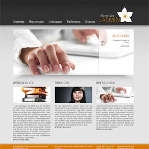 Webseite Büroservice Jasmin Popp