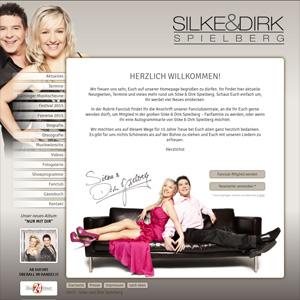 Webseite Silke und Dirk Spielberg