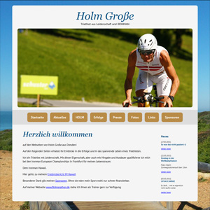 Webseite Holm Große