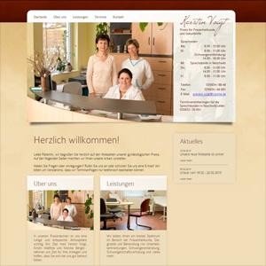 Webseite Frauenärztin Kerstin Voigt