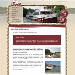 Webseite Liberté-Reisen
